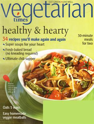 VegetarianTimesMagazineCover