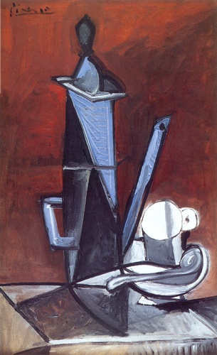 Pablo+Picasso+-+The+Blue+Coffee+Pot+(1944)+
