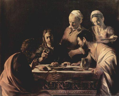Caravaggio_supperat Emmaus Milan Brera Fine Arts Academy1606
