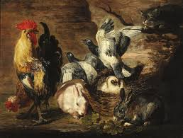 rabbits, roosters and doves