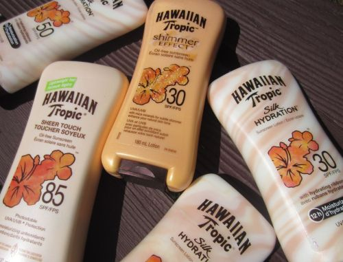 Hawaiian tropic several