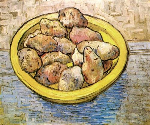 vangogh stillife potatoyellow bowl Rijkmueums 1888