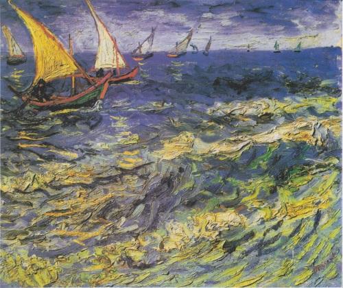 Van_Gogh_-_Fischerboote_bei_Saintes-Maries1