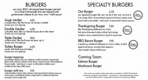 wahlburgers-menu
