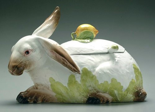 rabbit italian soup tureen