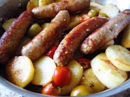 sausage vinegar pepper FOOD