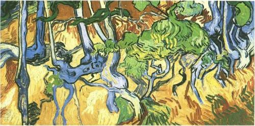 Tree-Roots-and-Trunks Vincent van GoghJuly 1890